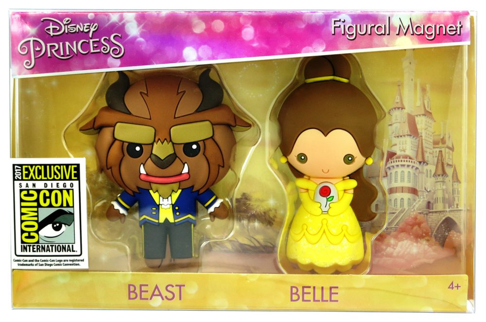 Beauty & The Beast 3D Magnet Box Set Coming To SDCC