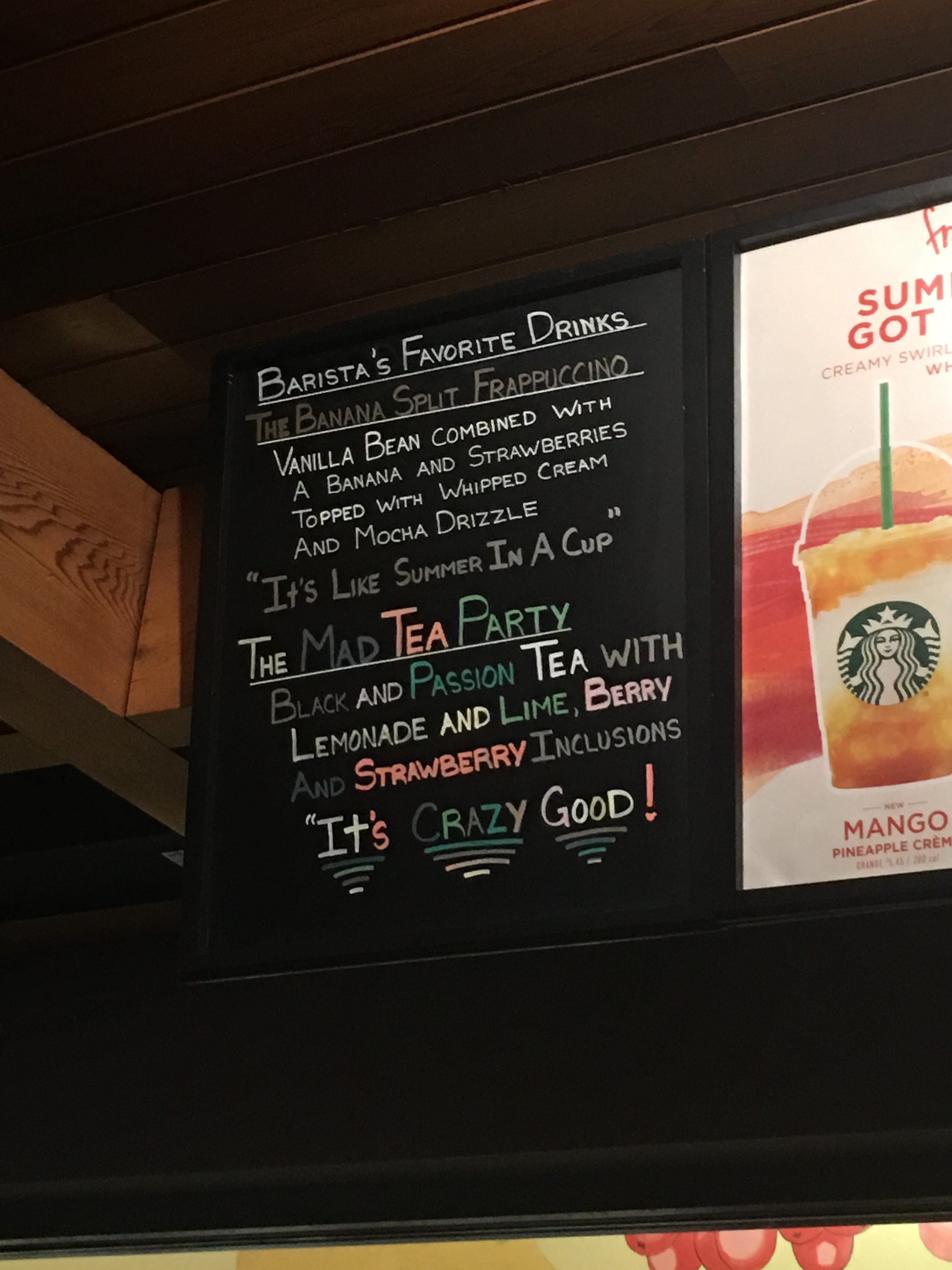New Drink Craze at Disney Springs Starbucks