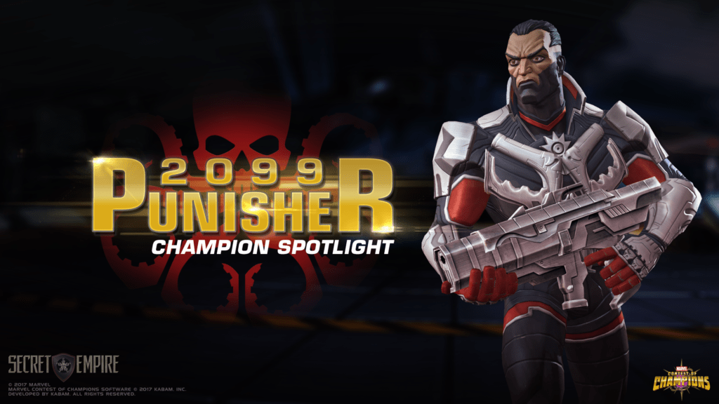 The Punisher 2099 Comes To Marvel Contest Of Champions