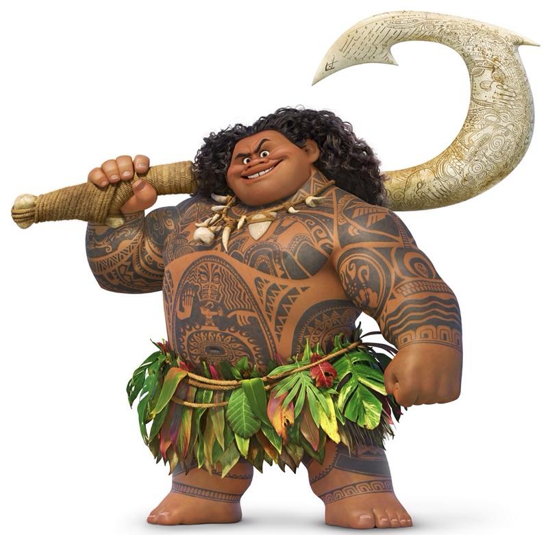 "Maui from Disney's ""Moana"" Debuts at Shanghai Disneyland"