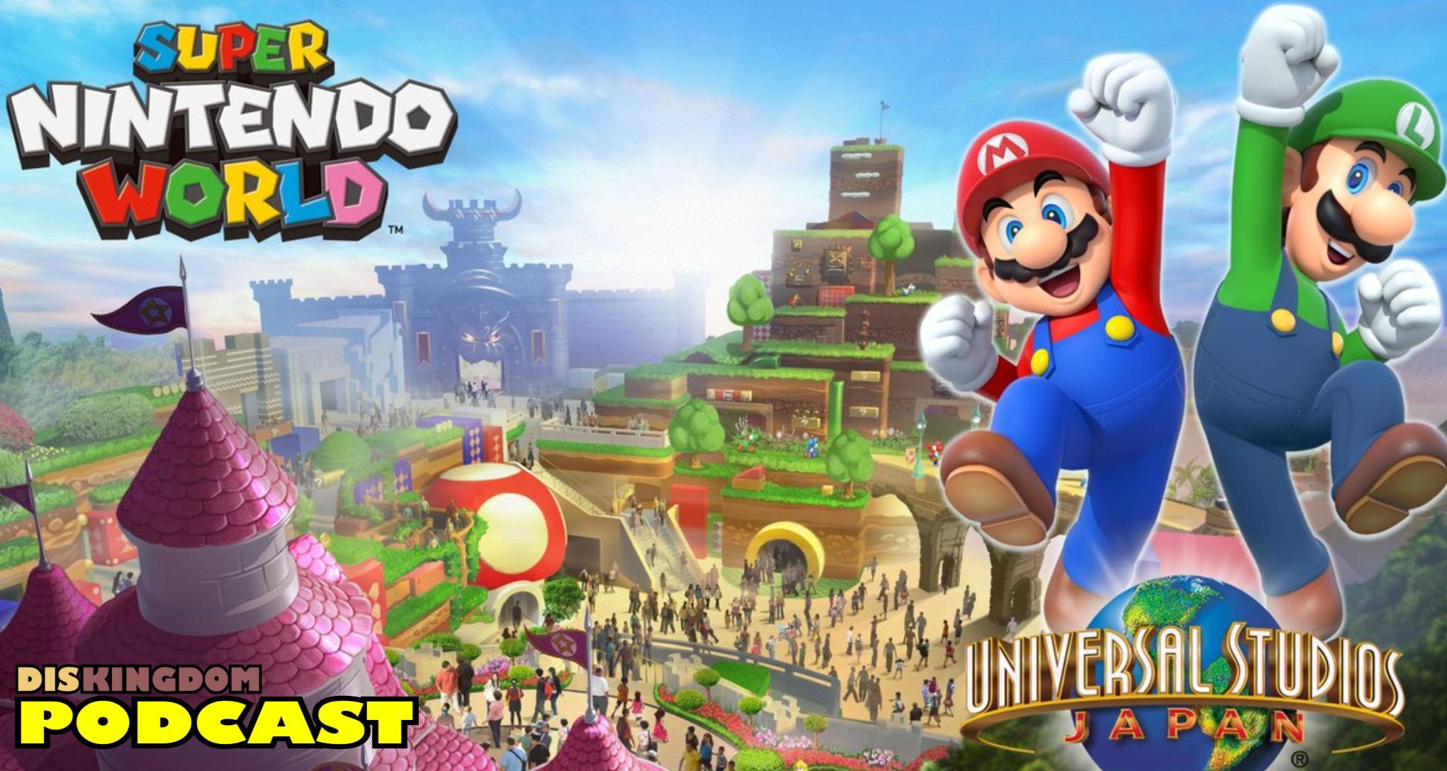 Building Starts On Super Mario World In Universal Studios Japan | DisKingdom Podcast