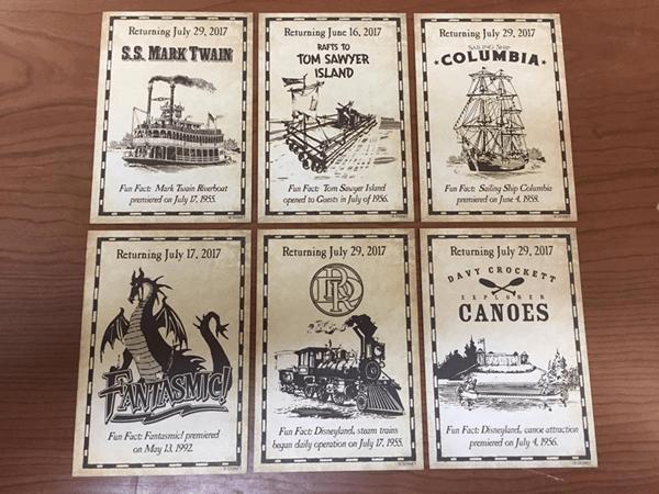 "Review: Disneyland ""Returning"" Trading Cards"