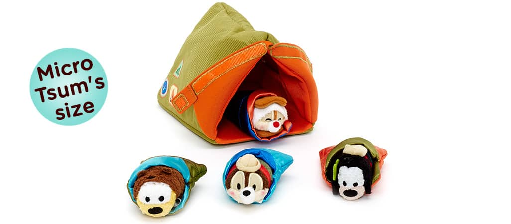 Camping Micro Tsum Tsum Set Coming Soon