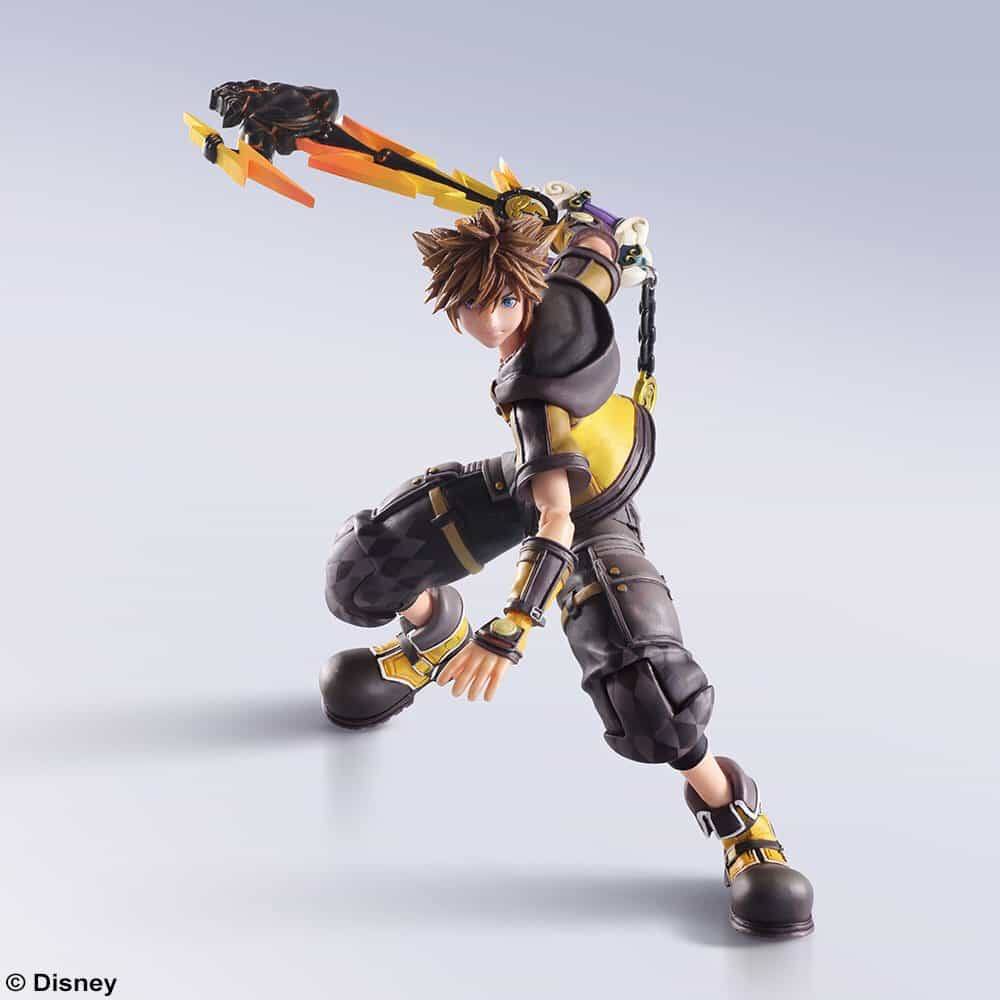 Kingdom Hearts 3 Guardian Form Sora Bring Arts Figure Coming Soon