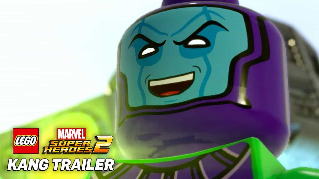 Kang The Conqueror | LEGO Marvel Super Heroes 2 SDCC Trailer Released