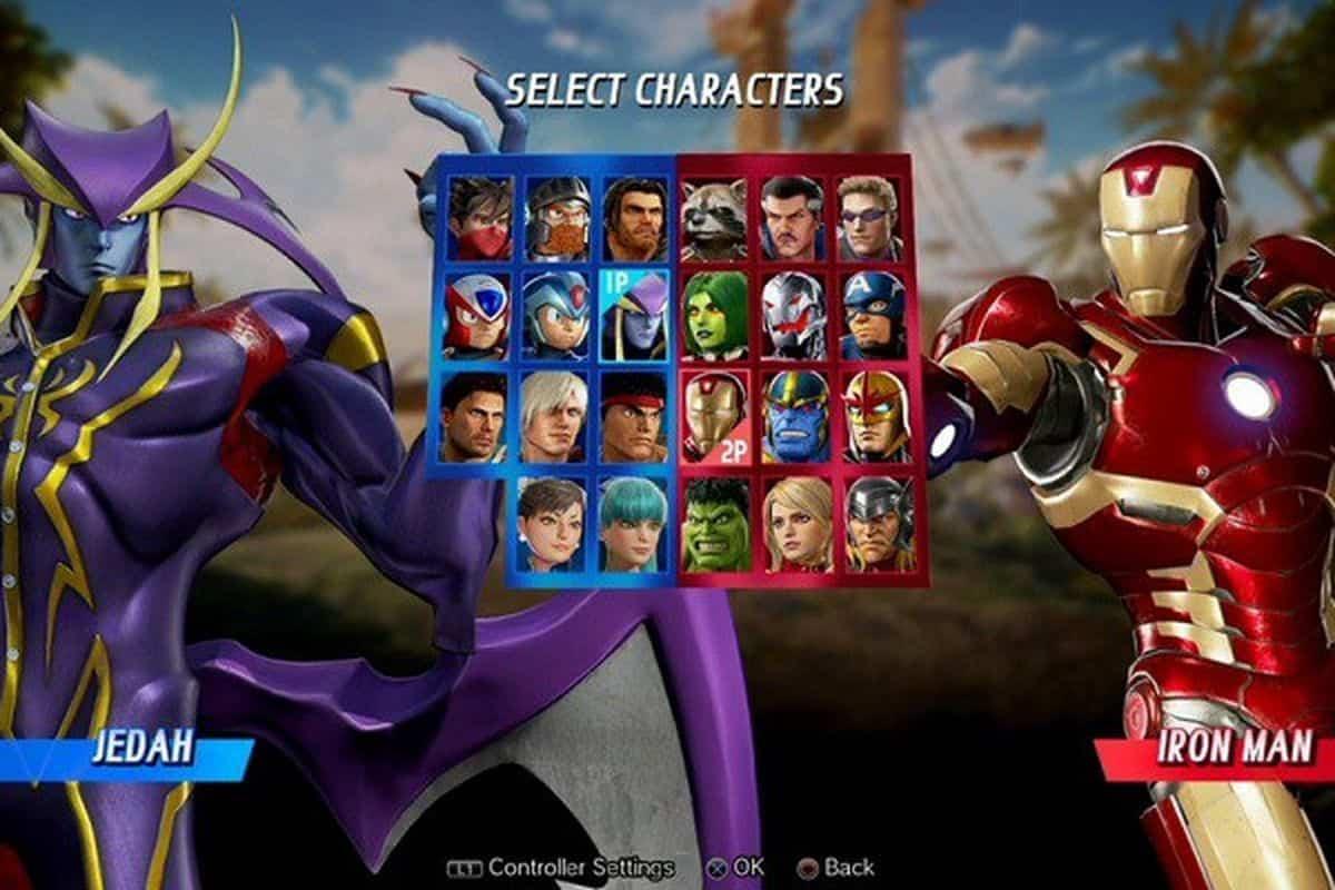 Darkstalkers Jedah Revealed For Marvel Vs Capcom Infinite At Evolution 2017