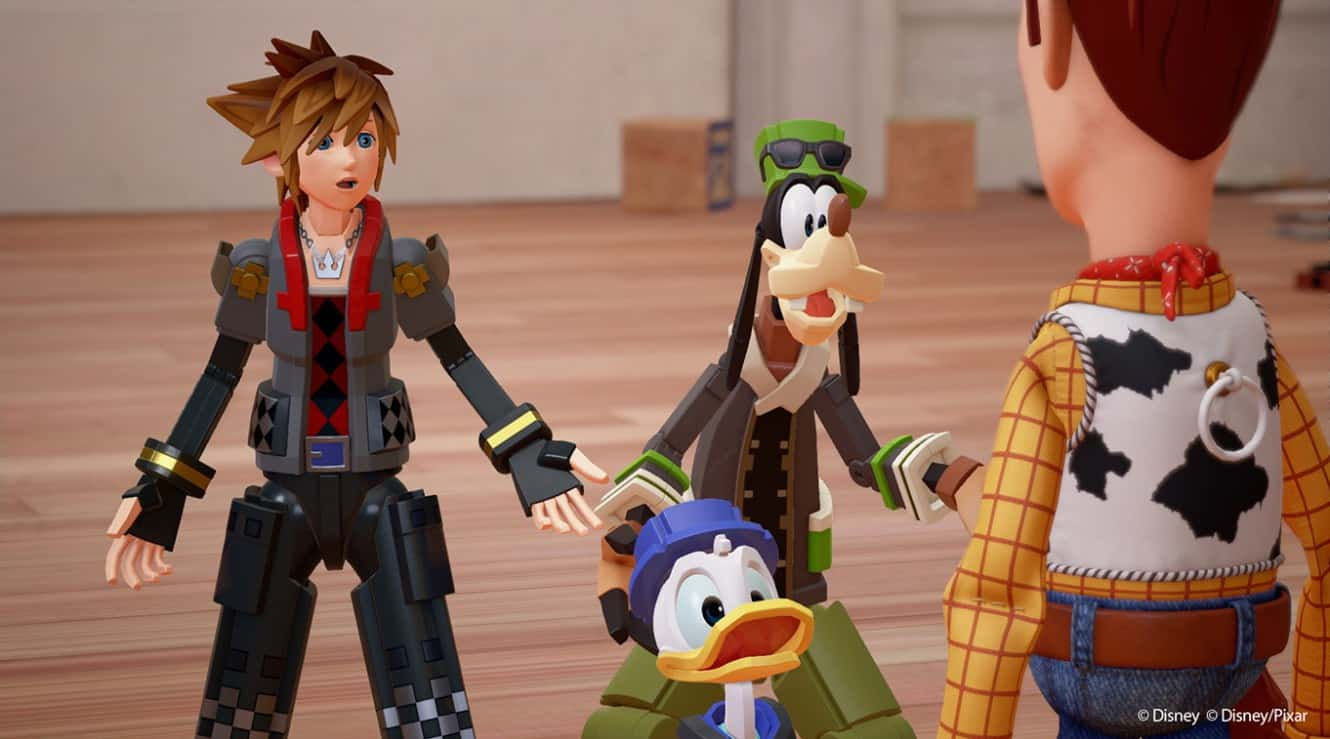 Kingdom Hearts 3 Toy Story Trailer Released During The D23 Expo Level Up Showcase