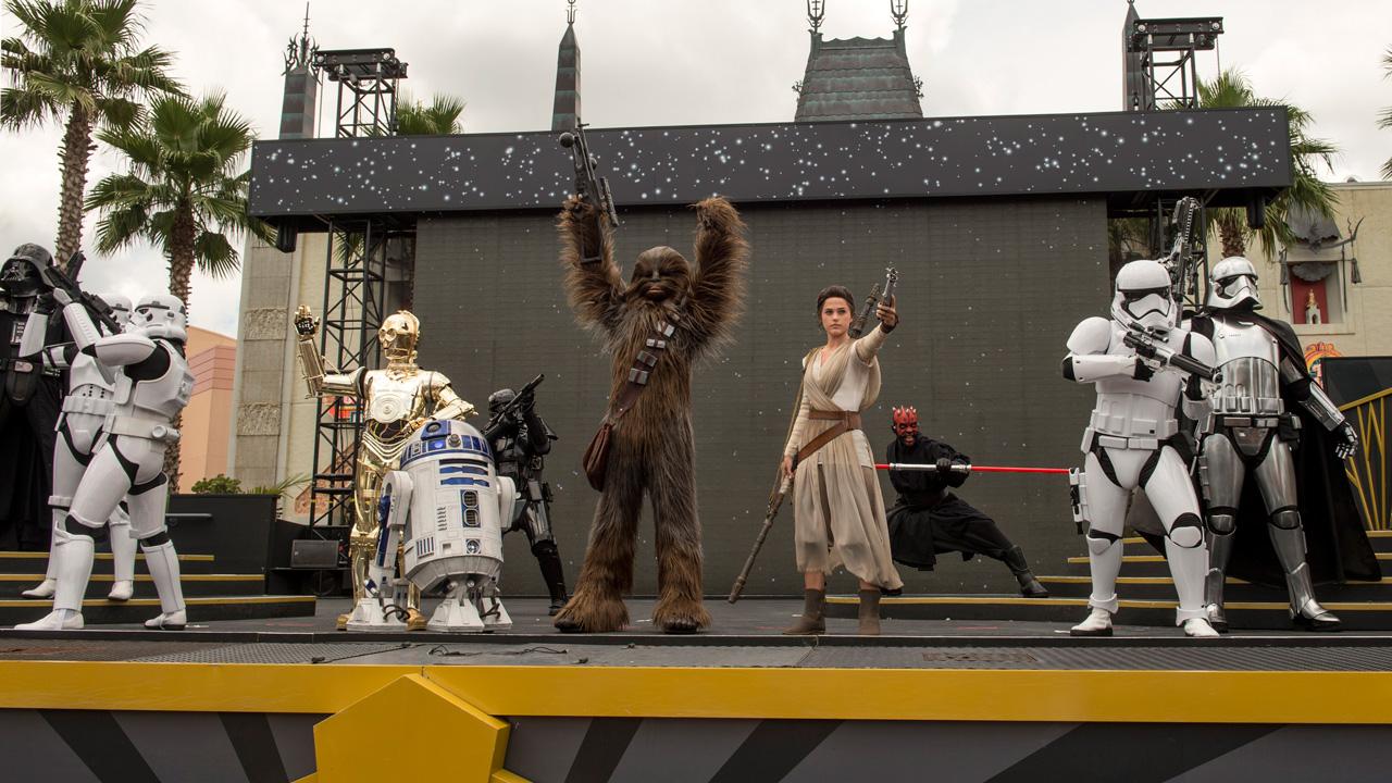 Rey Joins Star Wars: A Galaxy Far, Far Away Show