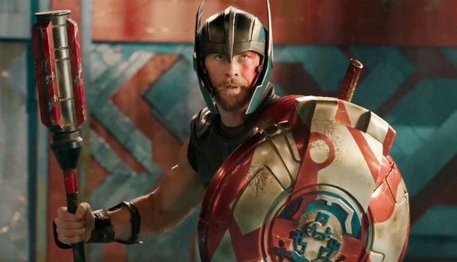 THOR Helmeted Funko Pocket POP Marvel Keychain Thor Ragnarock