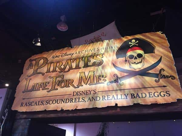 D23 Expo 2017 Highlight: Disney Archives Presents A Pirate's Life For Me