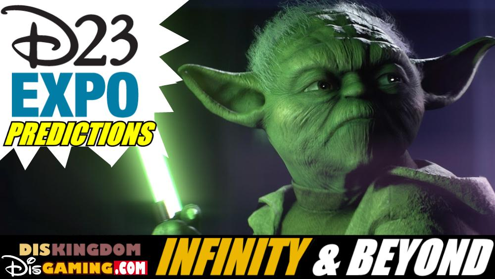 Our Star Wars Games D23 Expo Predictions | Infinity & Beyond Podcast
