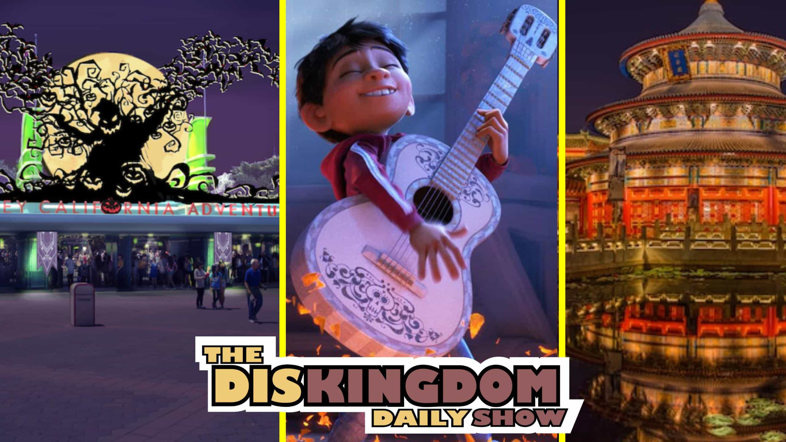 China Getting New 360 Movie + DCA Getting Coco Experience | DisKingdom Daily Show