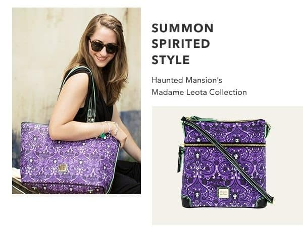 new disney madame leota dooney bourke available online now at the disney store