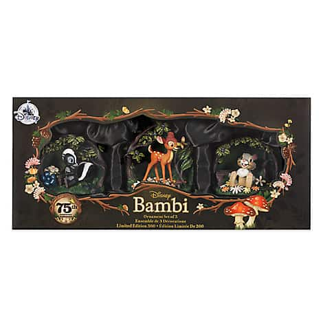 New Bambi 75th Anniversary Collection Online Now at the Disney Store!!!