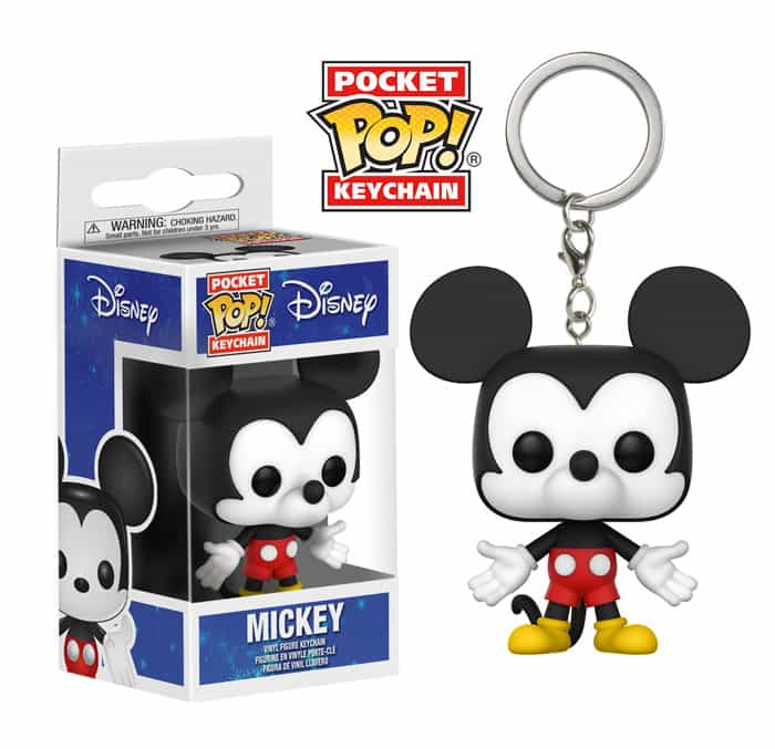 Mickey & Minnie Mouse Pop Keychains Coming Soon