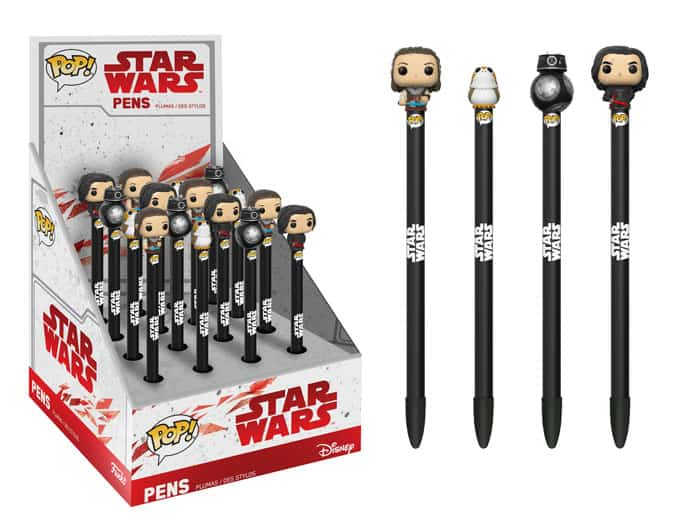 New Star Wars: The Last Jedi Pens, Lanyards & Water Bottles Coming Soon