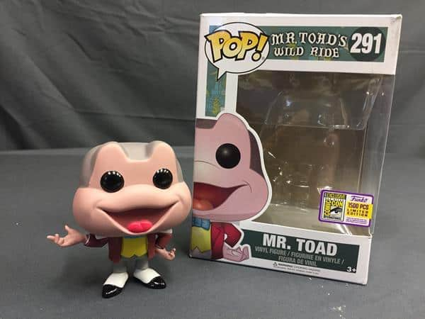 Pop! Review: Disney Parks' Mr. Toad (SDCC Exclusive)