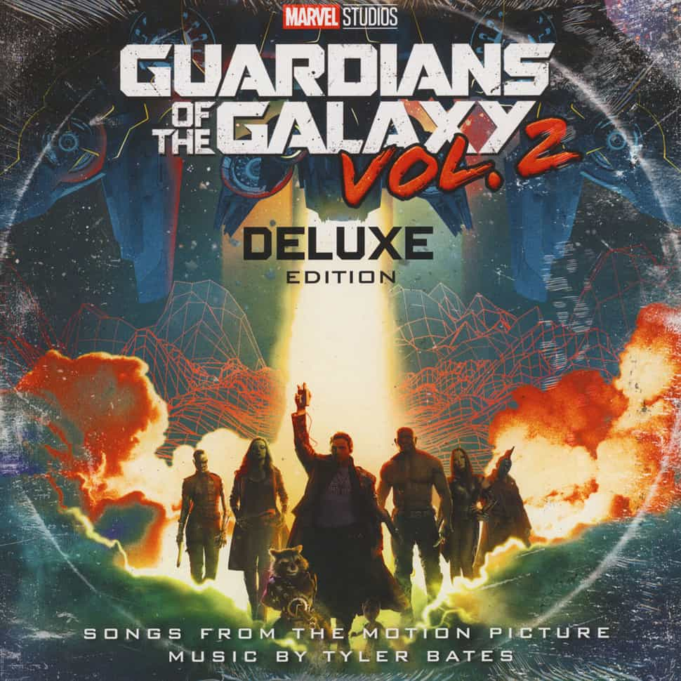 2 Cassette And Disc Vinyl Edition Of Guardians The Galaxy Vol Deluxe Soundtrack Awesome