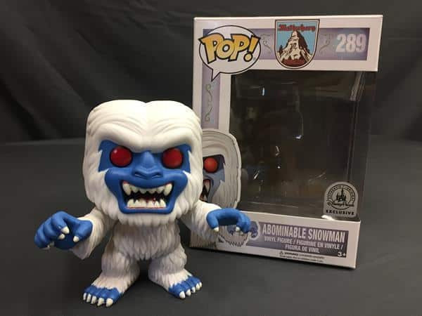 Pop! Review: Mattherhorn's Abominable Snowman (Disneyland Exclusive)