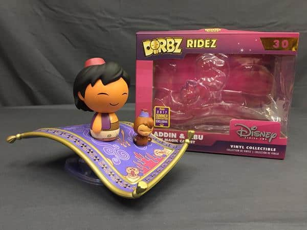 Dorbz Review: Aladdin Magic Carpet Ride (Summer Convention Exclusive)