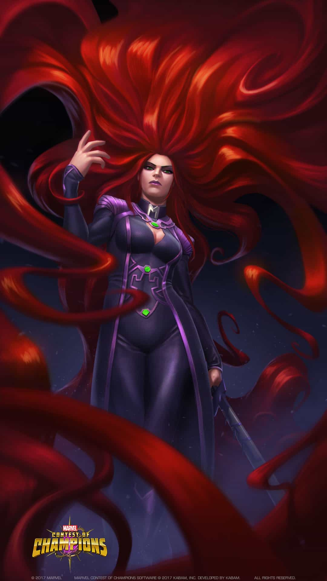 Medusa Joins Marvel Contest Of Champions Diskingdom