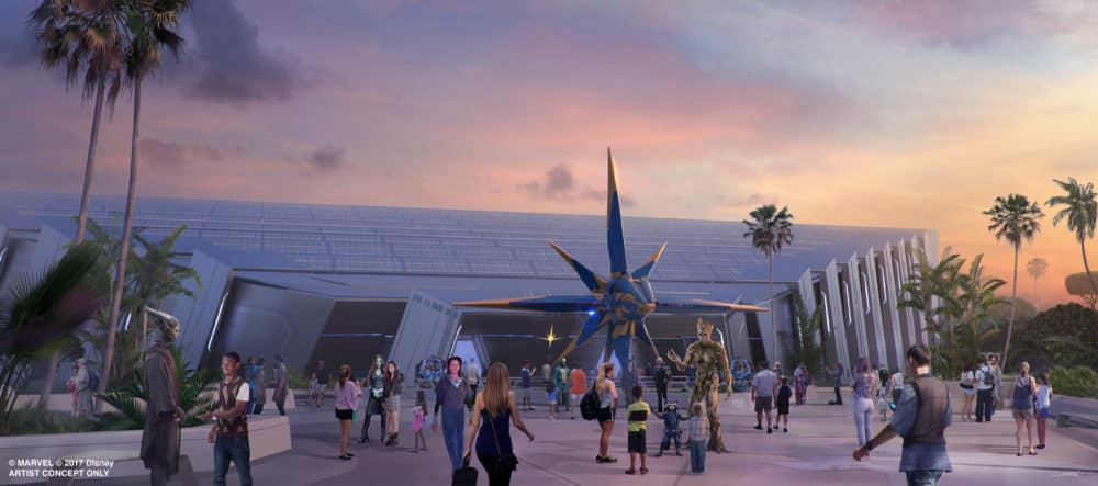 Has The Guardians Of The Galaxy Epcot Attraction Name Been Revealed?
