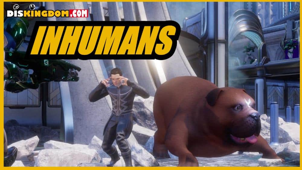 Inhumans Join Marvel's Games