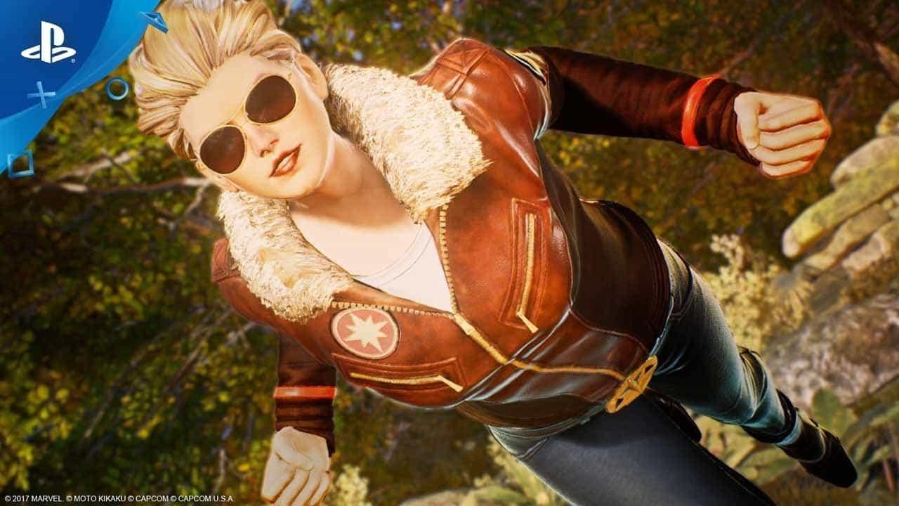 PlayStation 4 Marvel Vs Capcom: Infinite Major Carol Danvers Costume Trailer Released