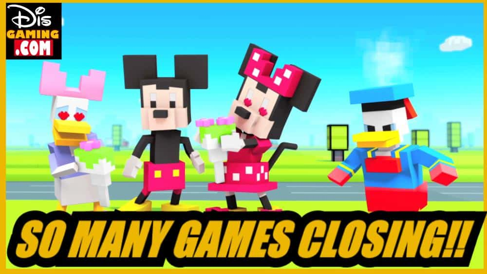 Why Are So Many Disney Games Being Removed From The Windows Store??