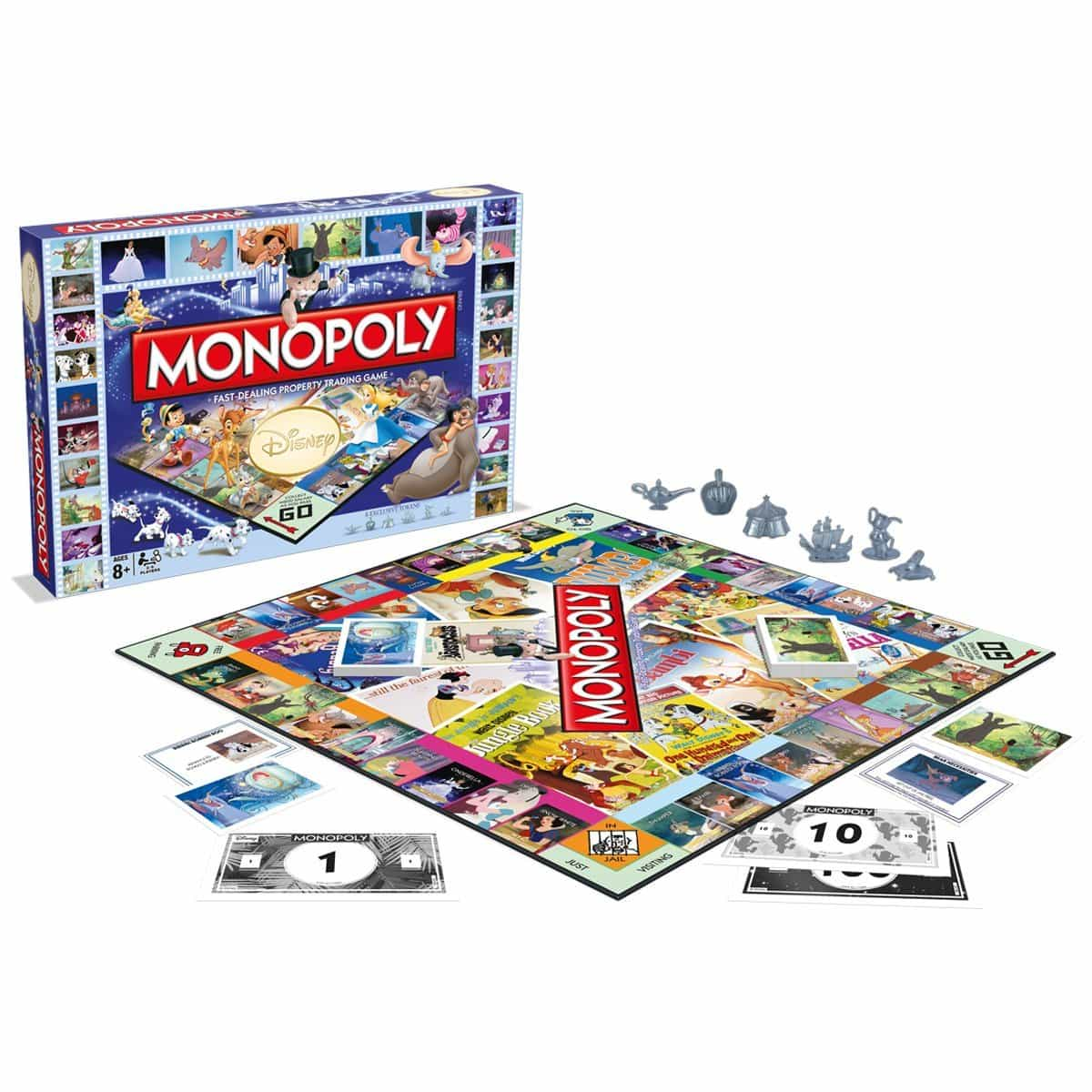 Limited Edition Classic Disney Monopoly Set Out Now