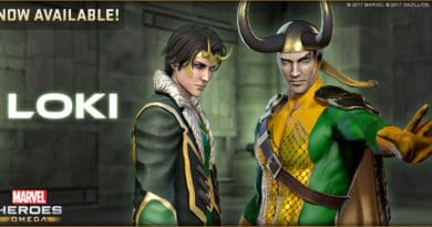 Loki Joins Marvel Heroes Omega