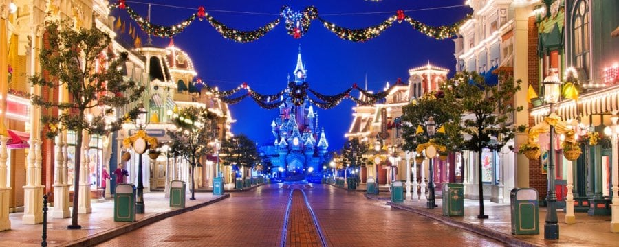Disneyland Christmas.Disneyland Paris Christmas Announcement Diskingdom Com