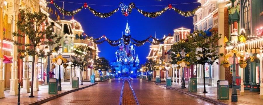Christmas At Disneyland.Disneyland Paris Christmas Announcement Diskingdom Com