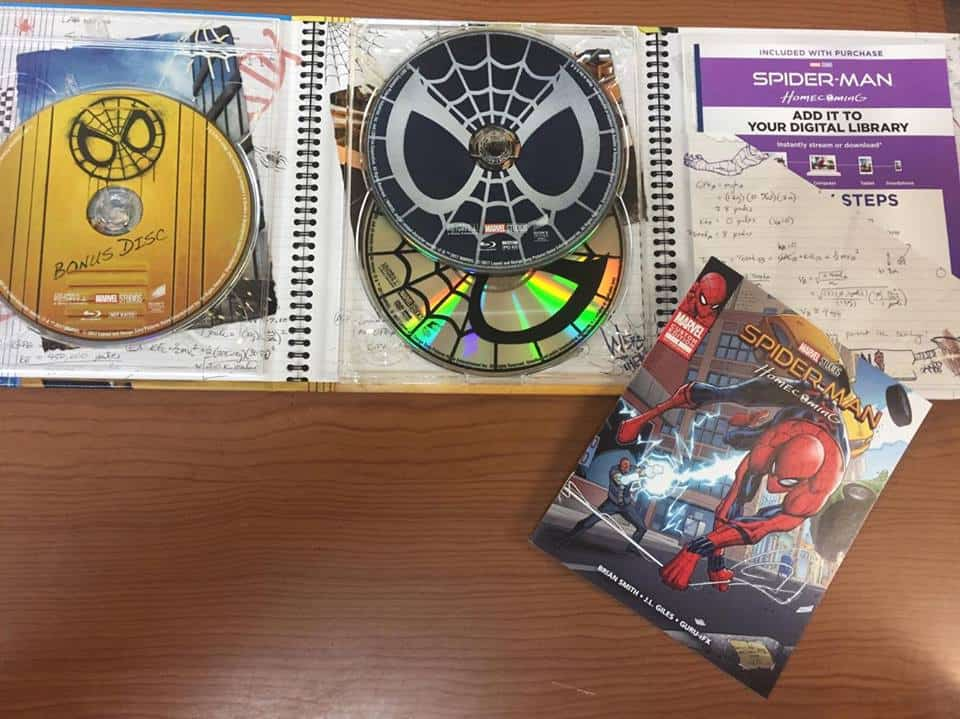 Spider-Man: Homecoming Blu-Ray Review (Target Edition