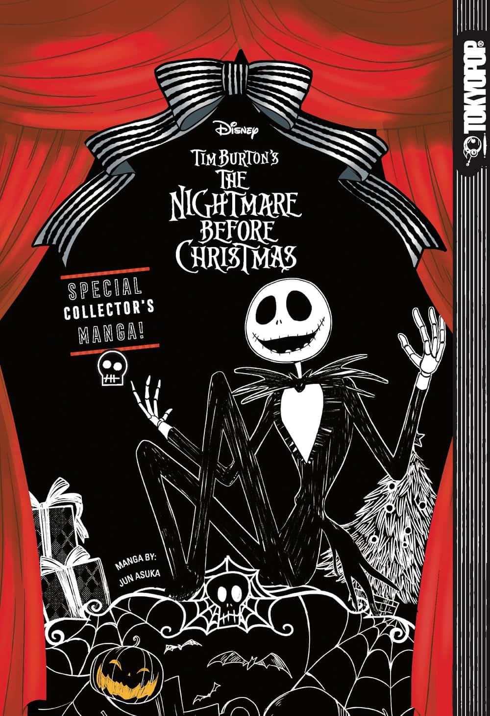 Disney Manga Tim Burton\'s The Nightmare Before Christmas Review ...