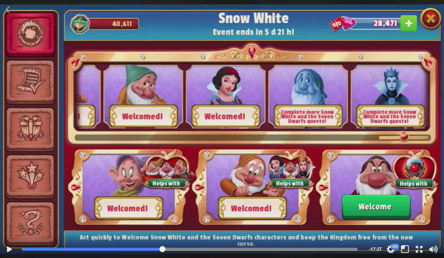 Disney Magic Kingdoms Update 16 Livestream Details