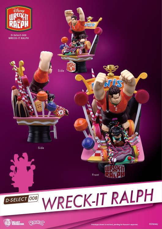 Disney D Select Ds 008 Wreck It Ralph Px Previews