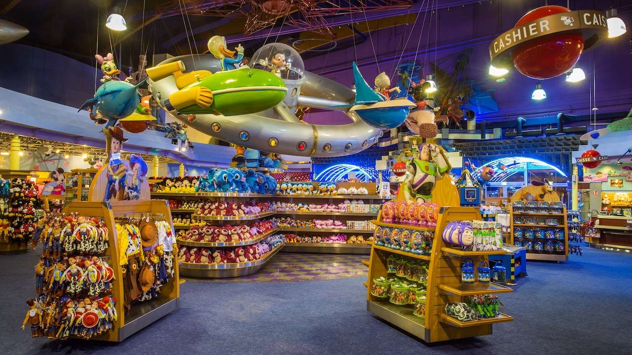 Image result for family shopping in disneyland paris