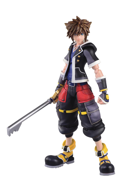 Kingdom Hearts III Sora (Second Form) Bring Arts Figure Coming To ...