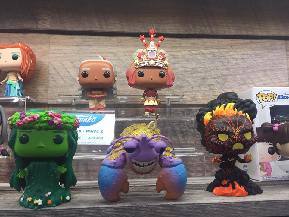 Closer Look At New Moana Pop Vinyls Diskingdom Com