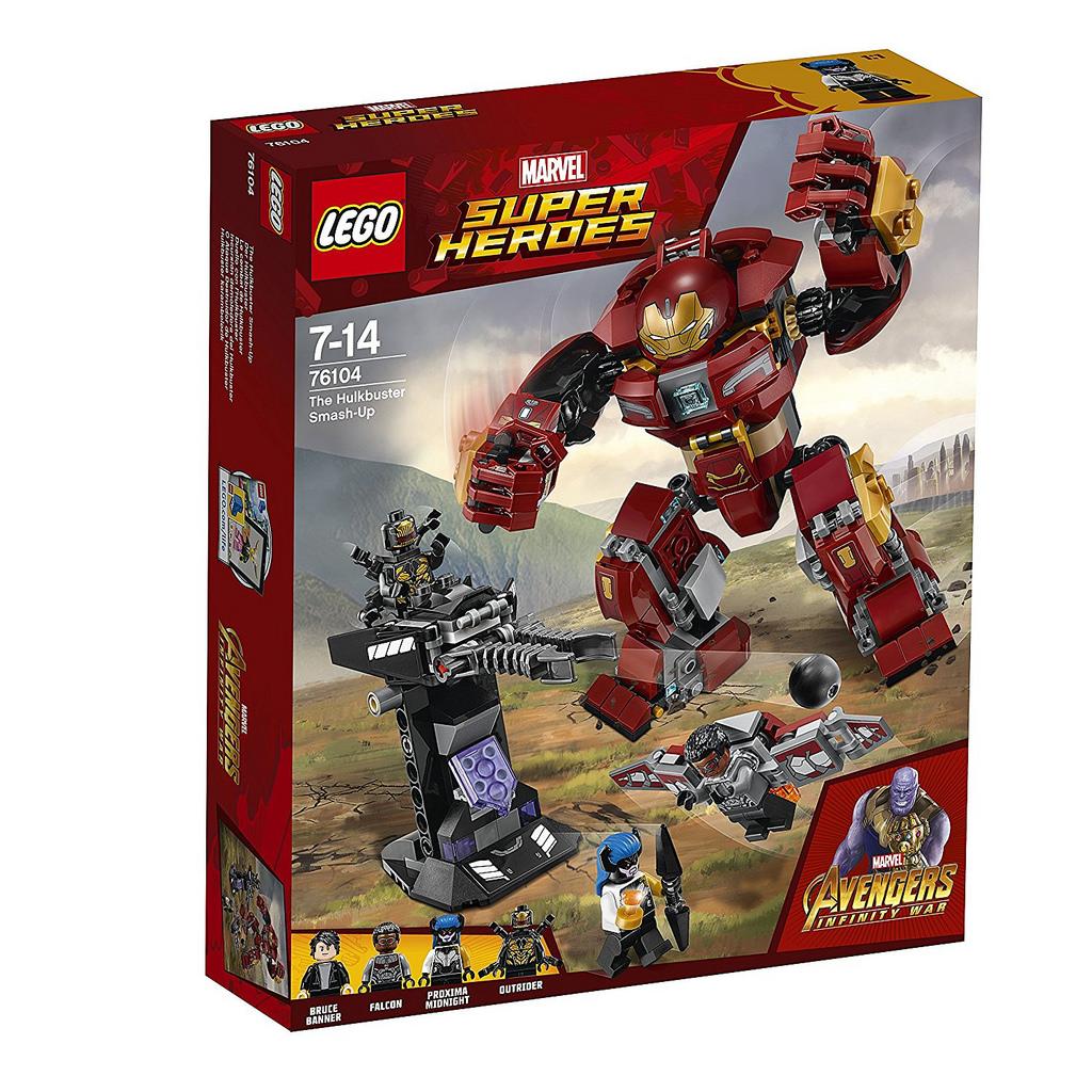 LEGO Marvel Avengers Infinity War Sets Revealed ...