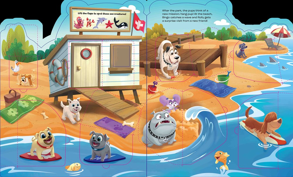 Puppy Dog Pals Today Song