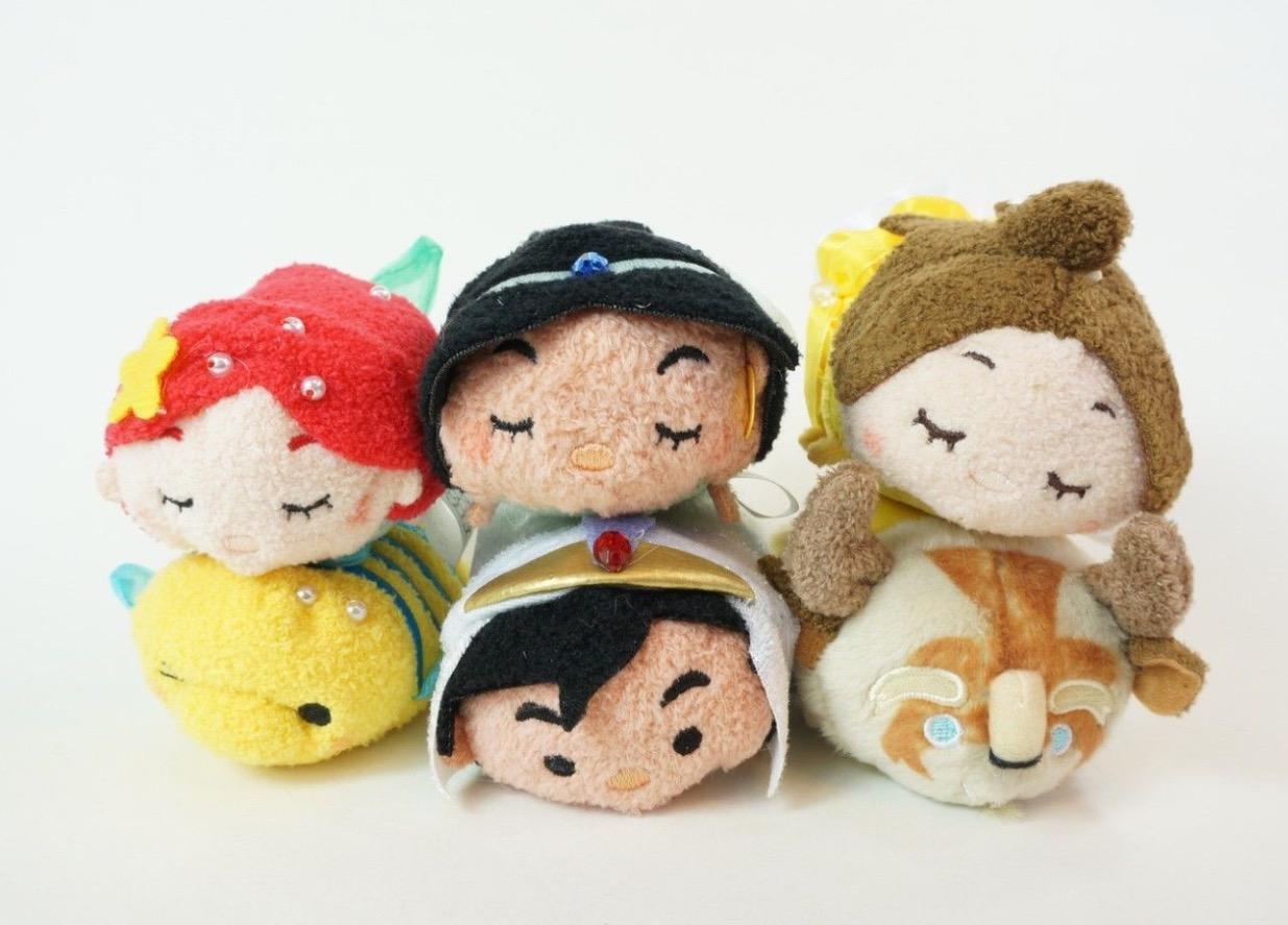 La Puntada De La Princesa Jasmine De Disney Tsum Tsum: Disney Princess Tsum Tsum Set Released At D23 Expo Japan