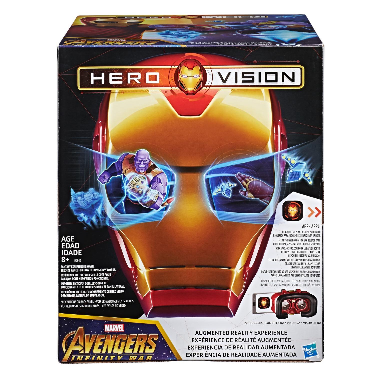 Marvel Avengers Infinity War Hero Vision Iron Man AR Experience ...