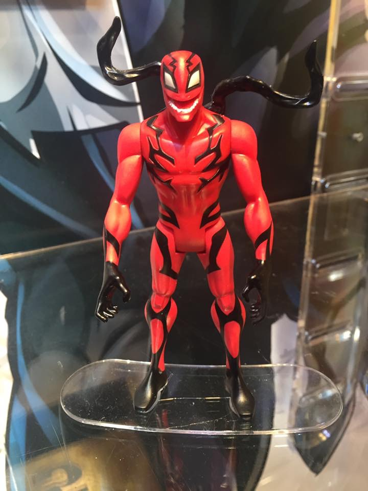 Closer Look At New Venom Action Figures At The New York