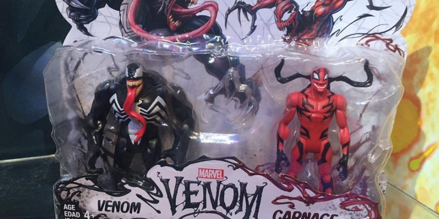 Closer Look At New Venom Action Figures At The New York Toy Fair