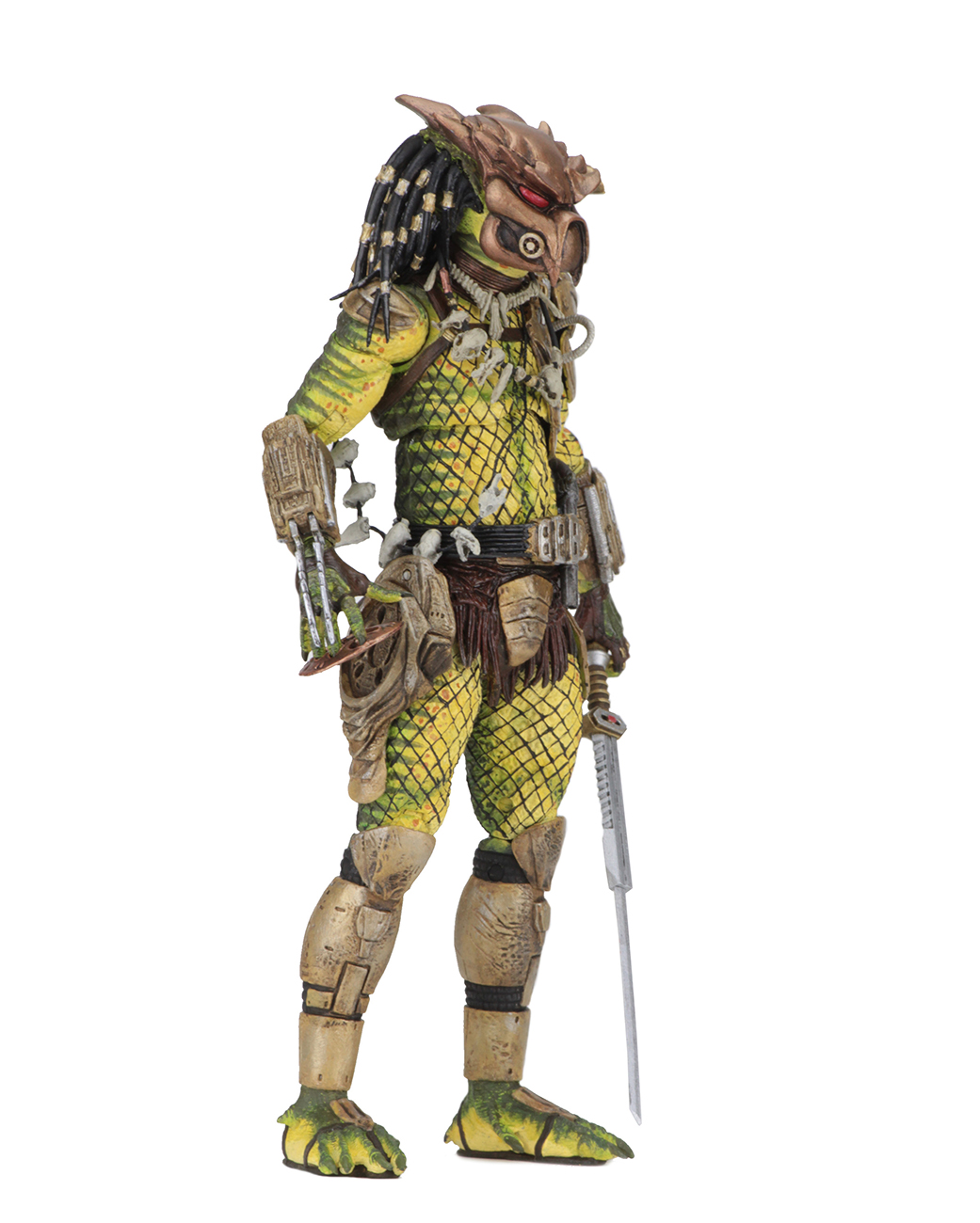 "The Golden Angel Predator 2-7"" Scale Action Figure Ultimate Elder NECA"