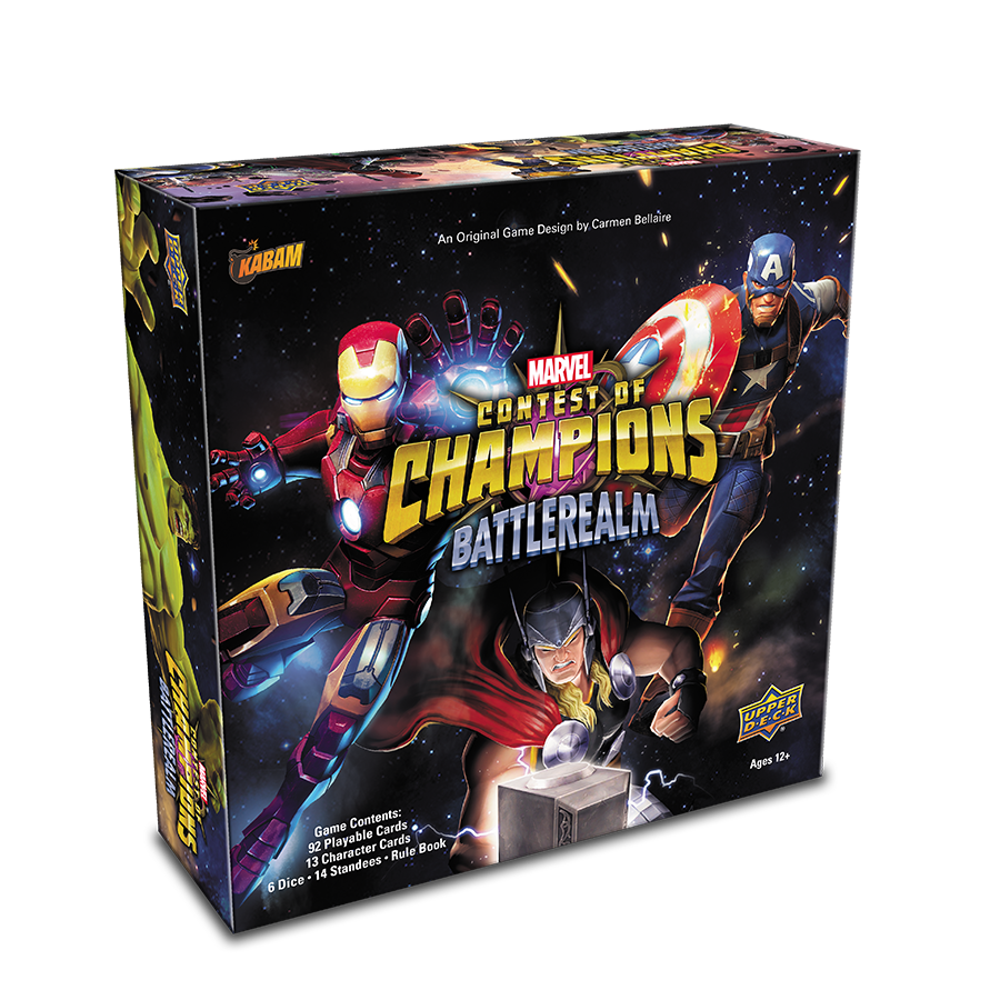 Marvel Contest Of Champions Tabletop Game Coming Soon