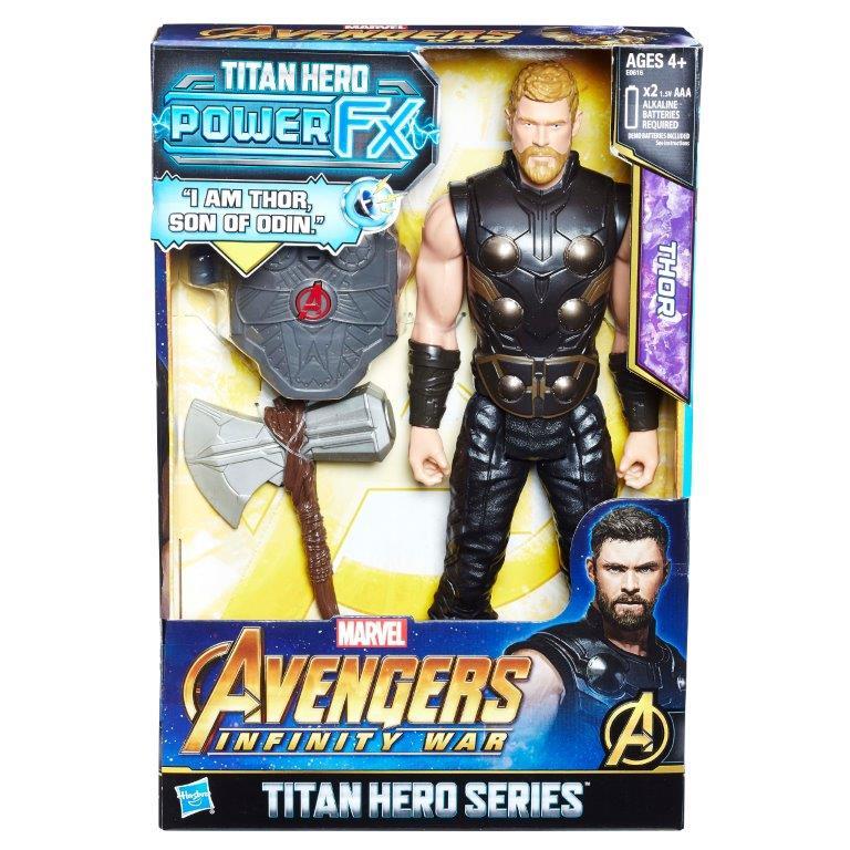 Marvel Avengers Infinity War Titan Hero Action Figures