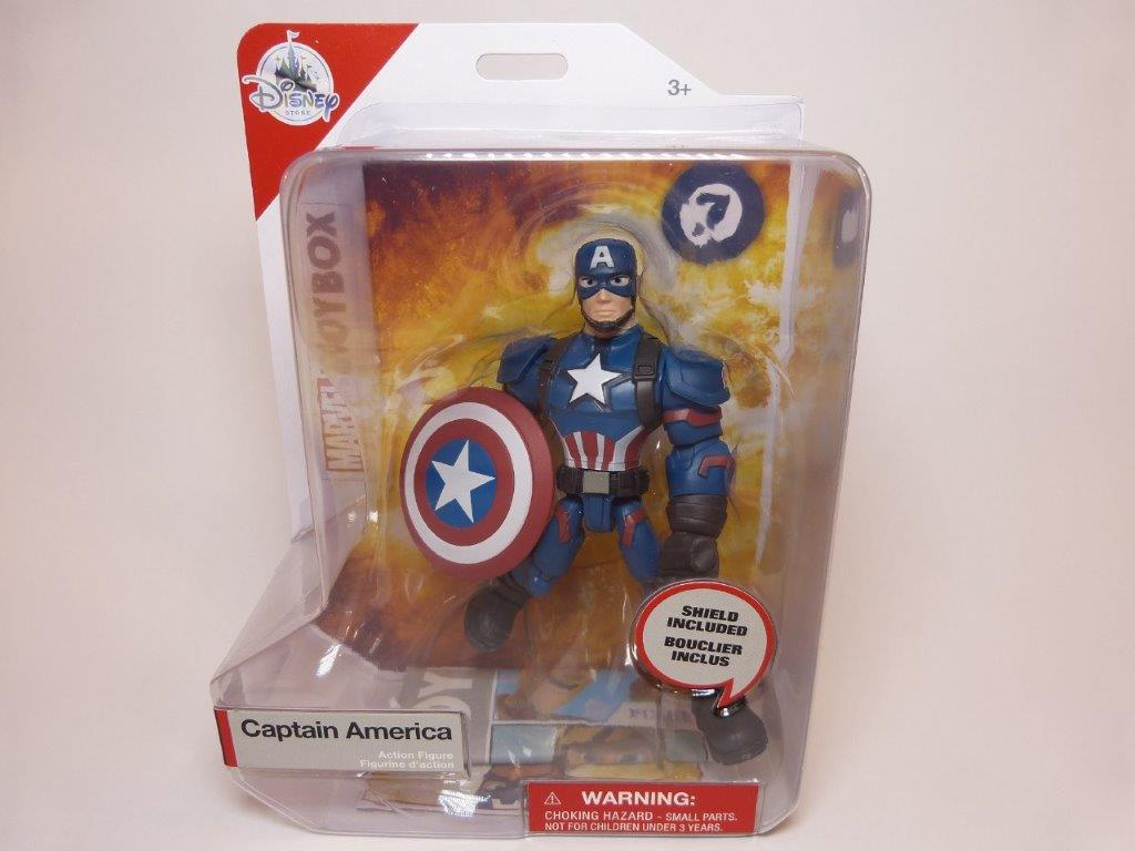 Captain America Toy Box Action Figure Review Diskingdom